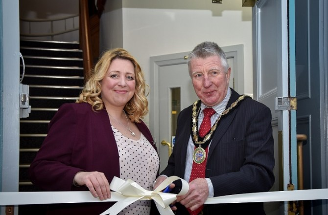 Official Opening for Business Hub Supported by Denbighshire County Council