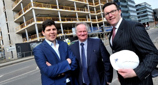 Key Cardiff City Centre Office Reaches Construction Milestone: JR Smart