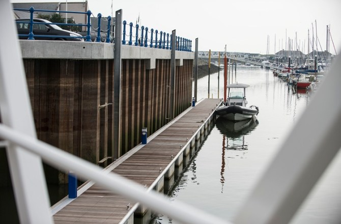 Jones Bros and Wynne Construction Scoop Top Award for Gwynedd Marina Project