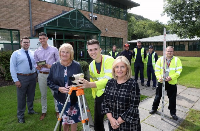 Winners of the Apprenticeship Awards Cymru Announced