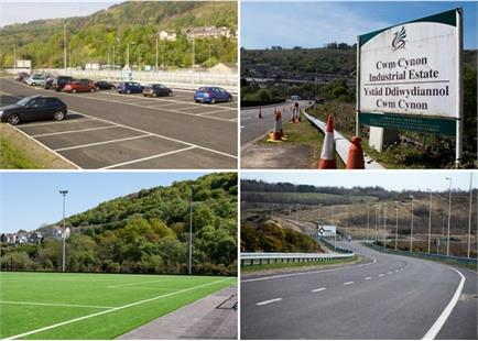Additional £7m Investment Agreed for Rhondda's Highways and Hub Schemes