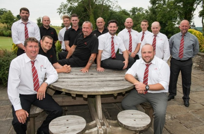 Redrow Homes South Wales Celebrates National House Building Council Award