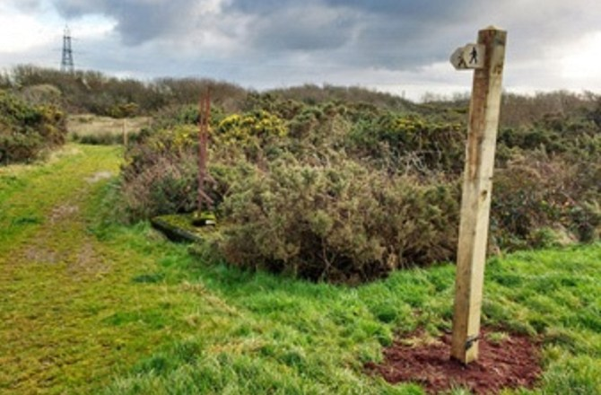 Pembrokeshire Public Footpath Reopened After More than 60 Years
