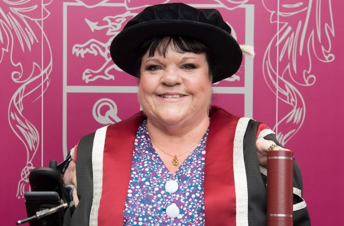 Swansea University Honours Inspiring Equality Campaigner