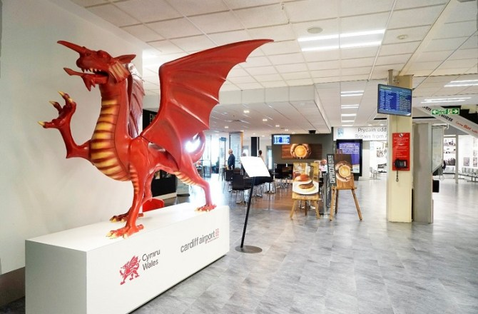 Salisbury Group Helps Cardiff Airport Fly Ahead of the Competition