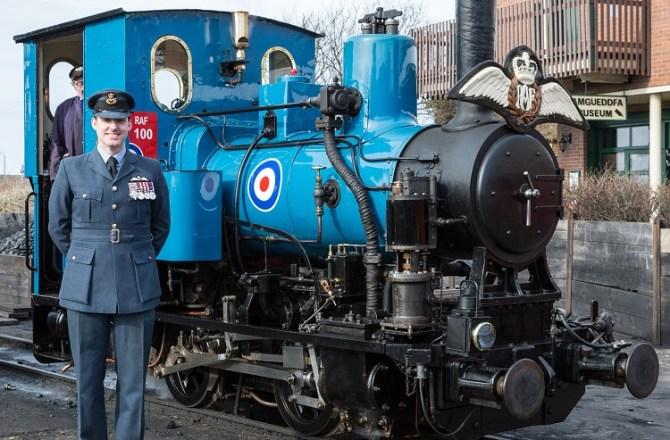 Talyllyn Railway Celebrates 100th Birthday of the RAF