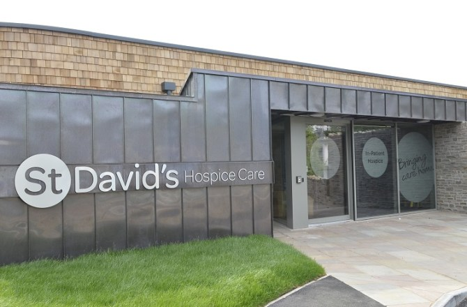 Opening of £5m, 15 Bed Hospice was One of St David's Hospice Care's Most Amazing Achievements in its 39 Year History