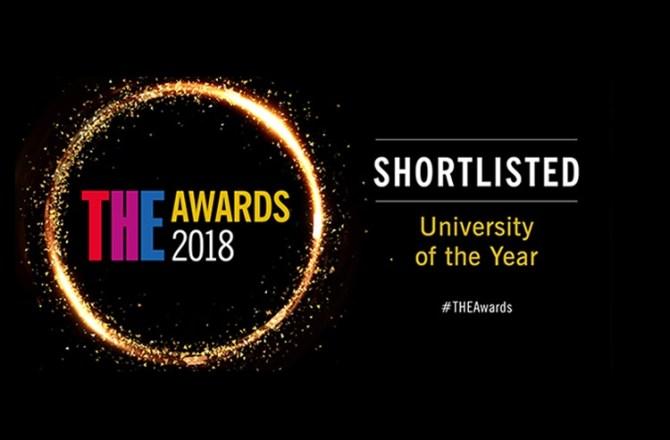 Swansea University Shortlisted for UK University of the Year 2018