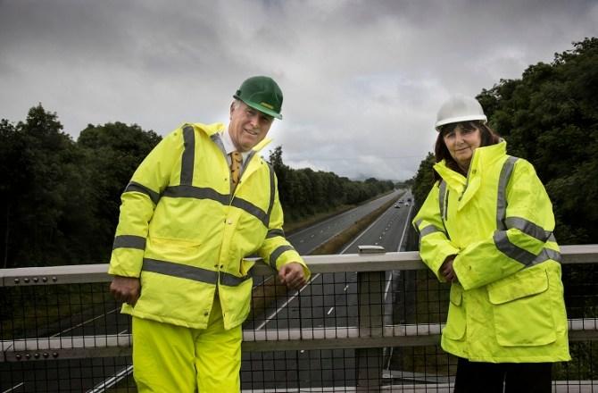 Cabinet Secretary Visits Jones Bros' Project to Halt Flooding of North Wales Village