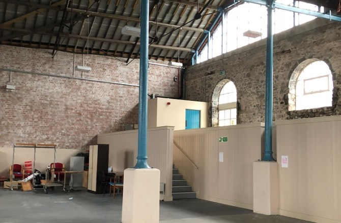 A New 6,000 ft² Street Food Venue will Open in Pembroke Dock this Summer