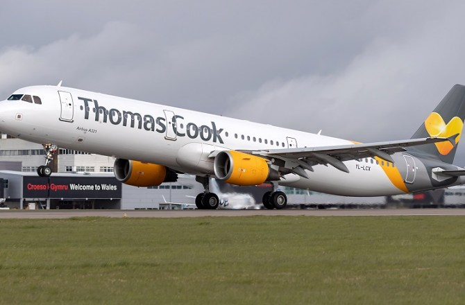 Thomas Cook Increase Capacity at Cardiff Airport by 25%