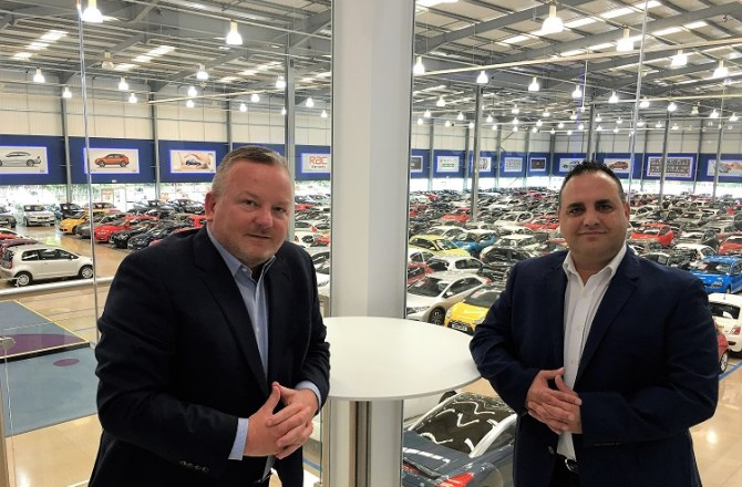 £13 Million Expansion as Trade Centre Wales Opens Europe's Largest Used Car Showroom