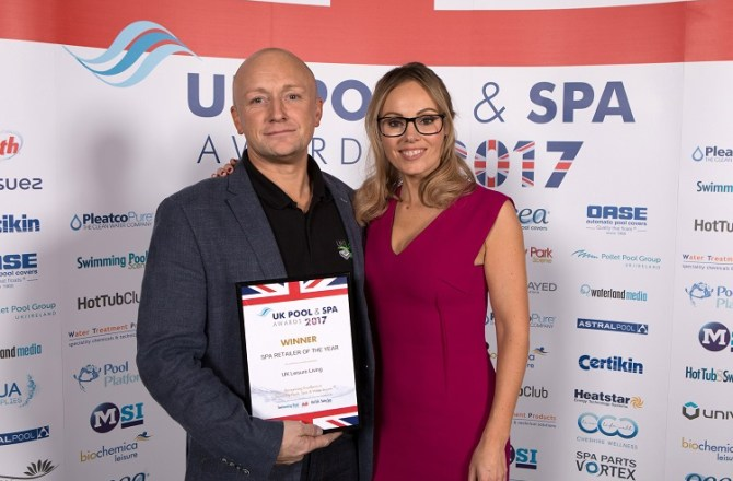 North Wales-based Hot Tub Business Wins Major Industry Award