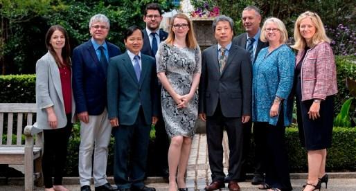 Vietnam Ambassador's Visits Swansea University