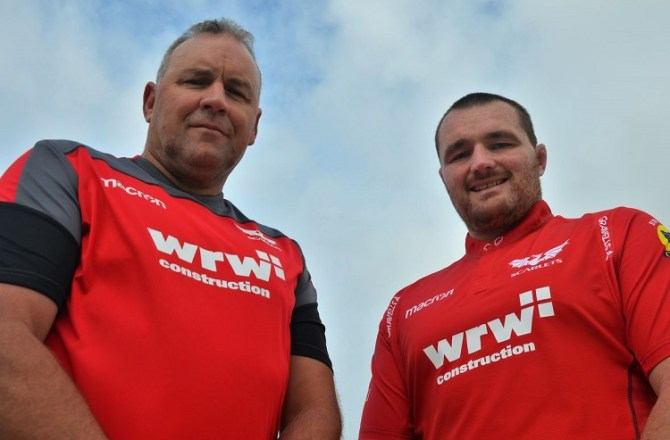 WRW Construction Named as Scarlets Main Sponsor