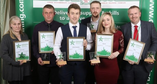 Excellence Recognised in Cambrian Training Company Awards