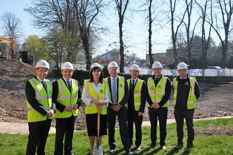 Wynne Construction Starts Work on £20m Redevelopment of Coleg Cambria's Yale Campus