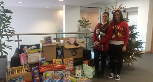 Acorn Donates Thousands of Gifts Over Christmas