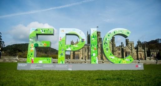 Visit Wales' EPIC arrives at Margam Country Park for Easter