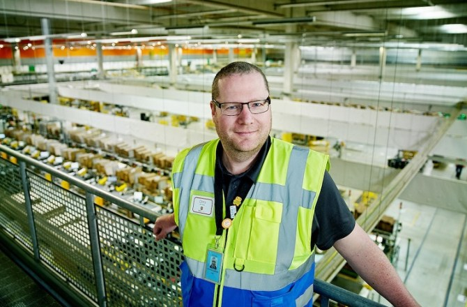 Port Talbot Man Takes Charge at Amazon in Swansea