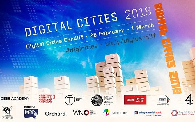 <strong>26th February – Cardiff </strong><br>BBC Digital Cities Week
