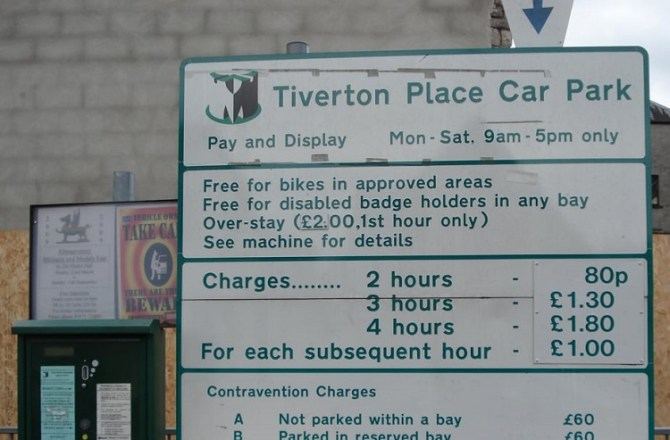 Monmouthshire Council to Temporarily Close a Number of its Car Parks