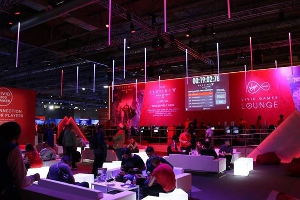 Caerphilly Based High-End CGI Company Helps Launch UK's Biggest Ever Video Games Event