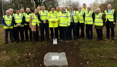 Minister Opens Revamped M4 Junction 28 Roundabout