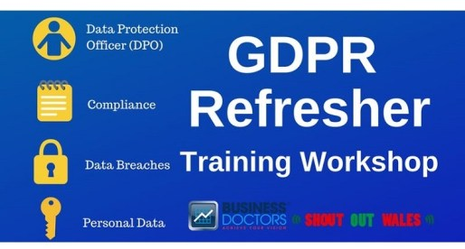 <strong> 10th June – Llanelli </strong><br>GDPR Refresher Workshop