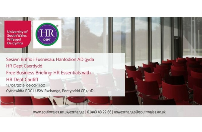 <strong> 14th May – Pontypridd </strong><br> Business Briefing: HR Essentials