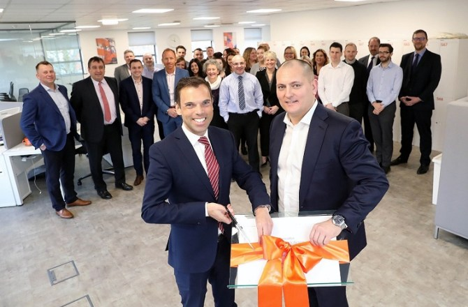 Newly-Refurbished 'Smart' Newport Headquarters Opens