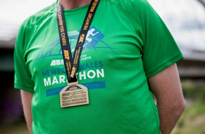 ABP Newport Wales Marathon Finishers' Prizes Revealed