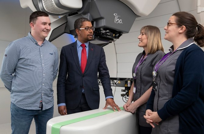 Welsh NHS Patient Benefits from Arrival of Proton Beam Therapy in the UK