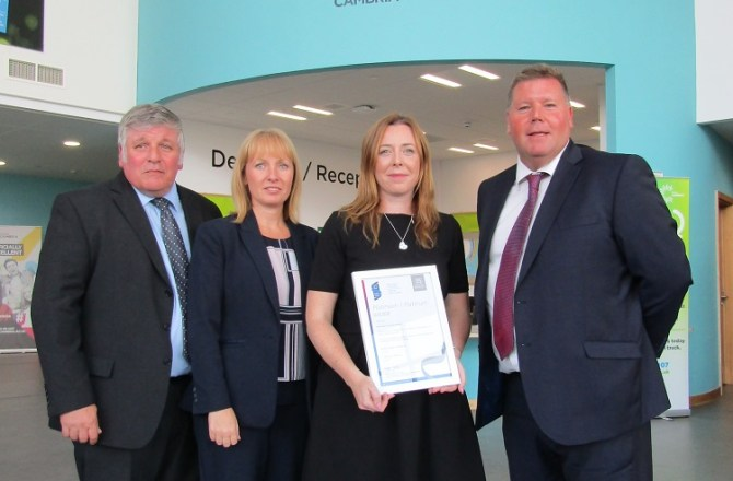 North Wales College Recognised for Staff Support and Development