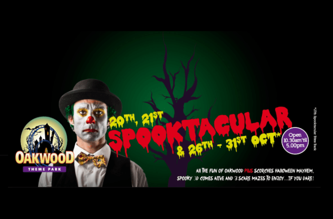 Oakwood Spooktacular Set to Boost Domestic Tourism
