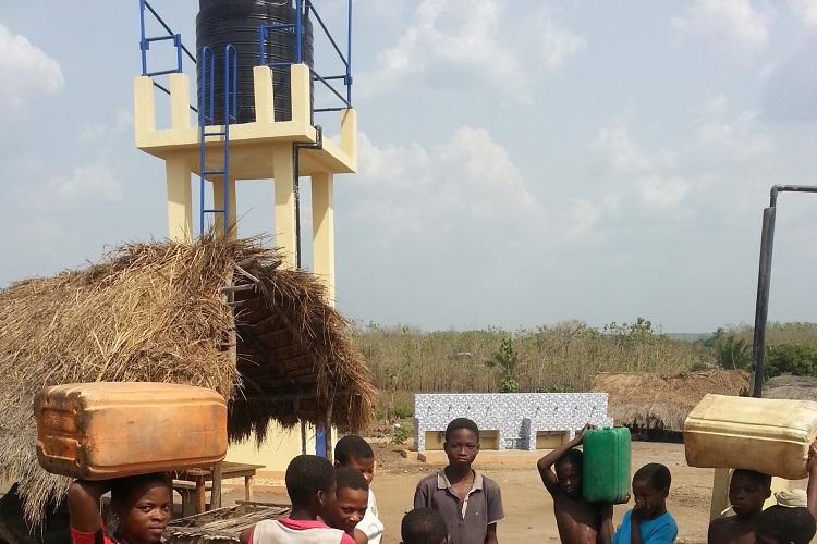 Homebuilder Helps Bring Clean Water to Community in Togo