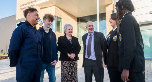 Cardiff's £26M Eastern Community Campus School Officially Opens