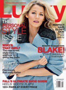 Blake Lively for Lucky mag