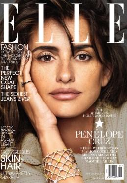 Penelope Cruz for Elle Us