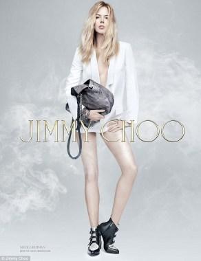 Nicole Kidman fourth print ad for Jimmy Choo