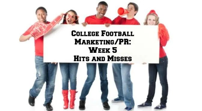 college football marketing and public relations