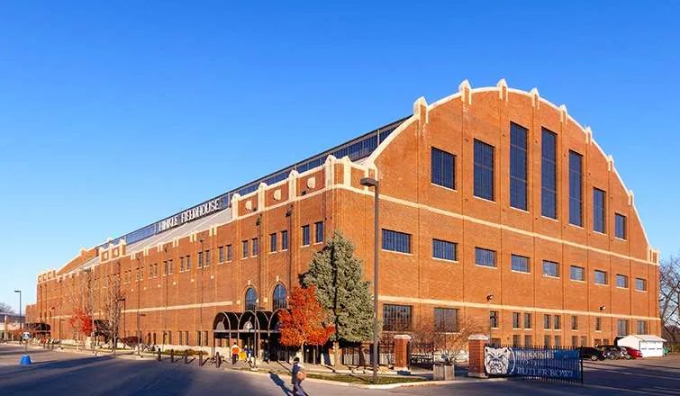 Hinkle Fieldhouse Photo courtesy of RATIO Architects (click photo for more project information)