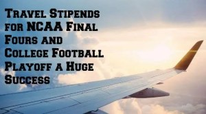 NCAA and CFP Travel Stipends