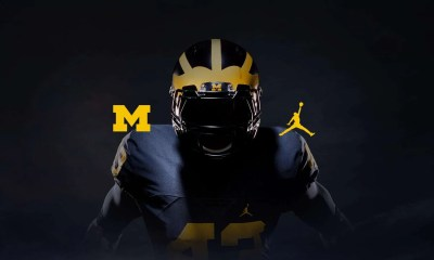 Michigan football, Nike, Jumpman, Jordan Brand