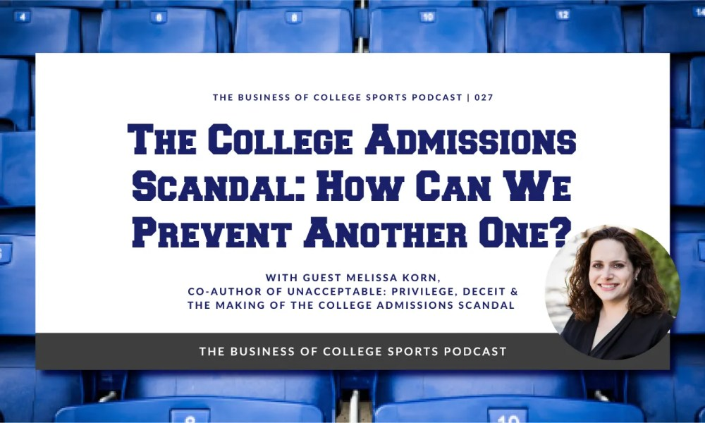 Unacceptable admissions scandal book