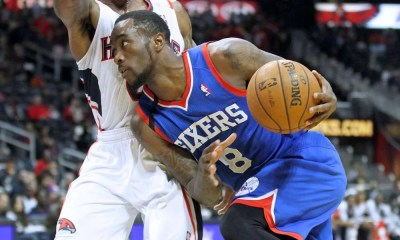 "76'ers guard Tony Wroten who was credited with first saying ""Trust the Process"""