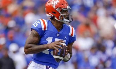 Florida quarterback Anthony Richardson