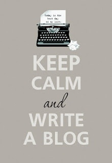 Keep Calm and Write a Blog image