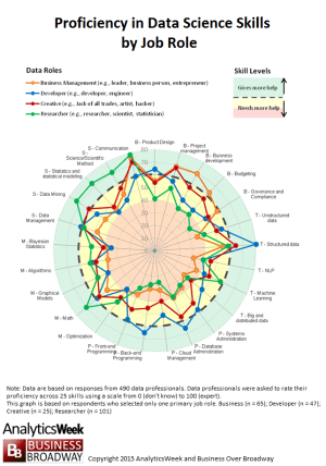 Data Skills Proficiency Wheel