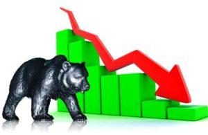 शेयर मूल्यमा दोहोरो अङ्कको गिरावट